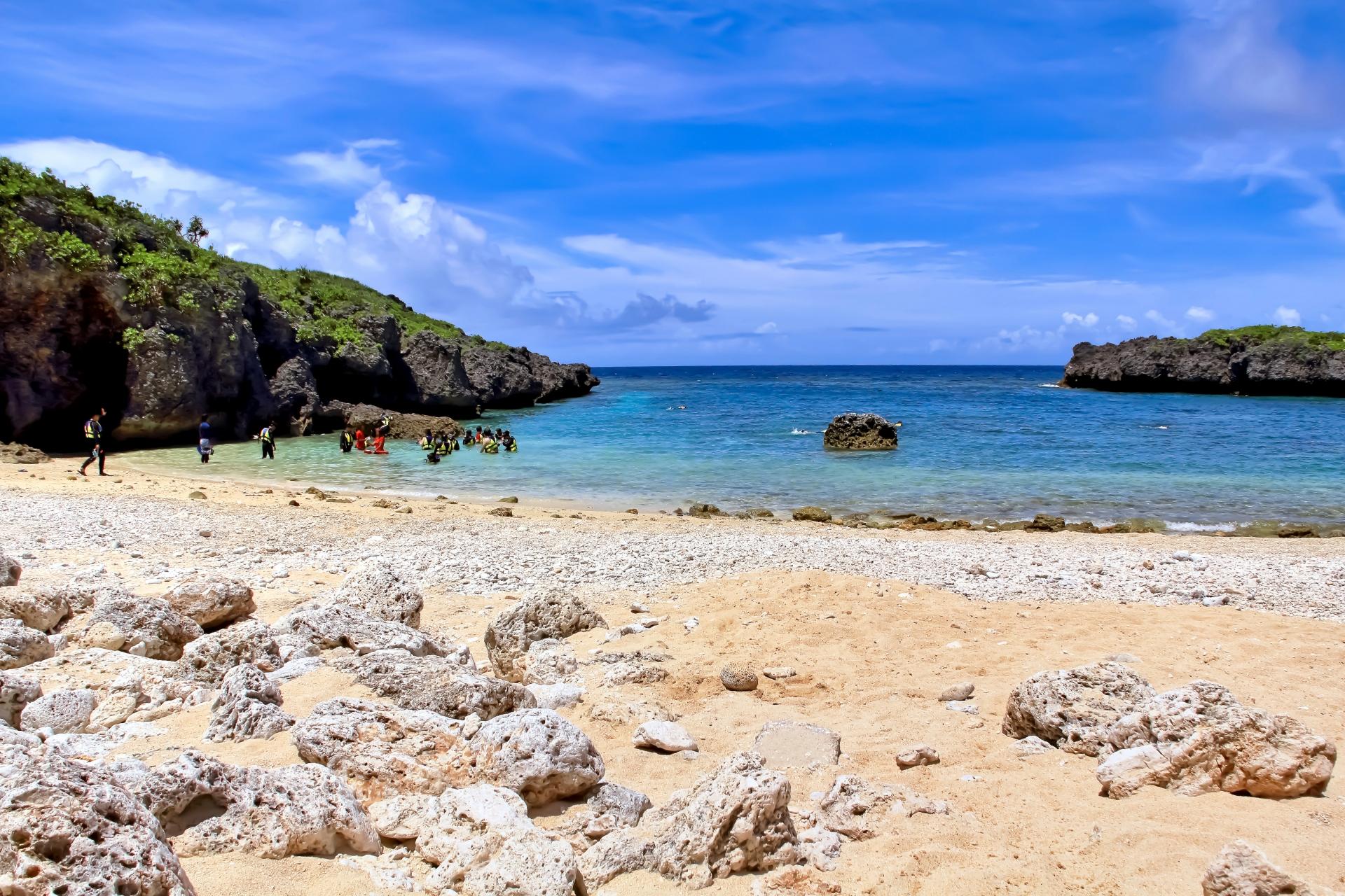 沖縄県宮古島市 下地島 中の島ビーチ